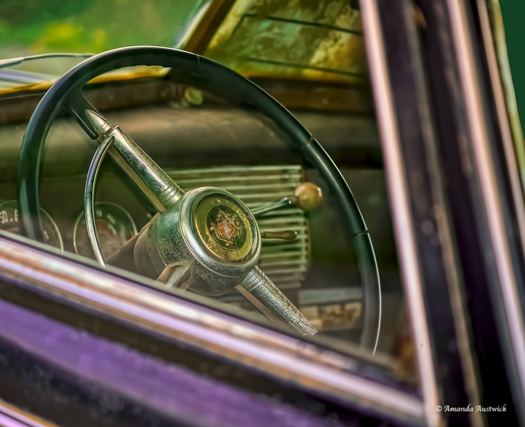 Antique Buick Steering Wheel