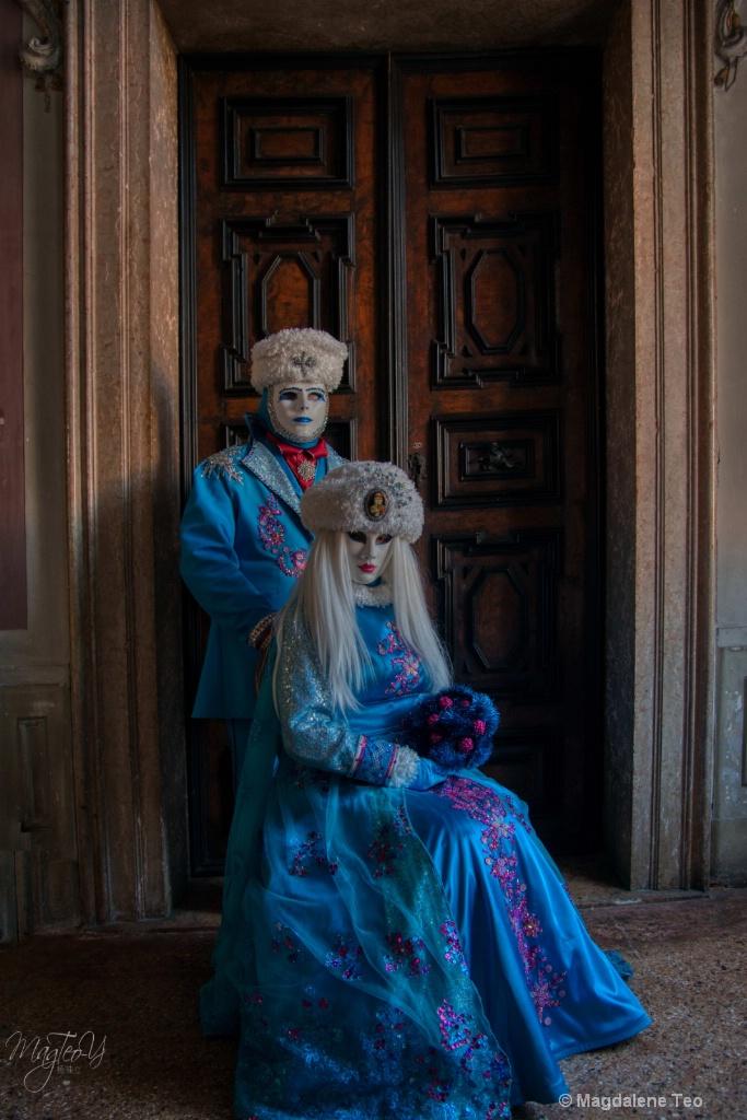 Carnevale di Venezia 2019 - Blue Series 2 - ID: 15705789 © Magdalene Teo