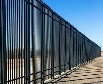 Man made Border Wall