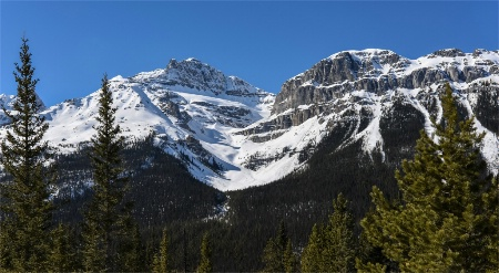 Rocky mountains of Jasper