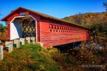 Henry Covered Bridge in Vermont