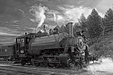 Black Hills Steam Engine
