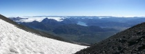 High Patagonian Andes view