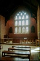 Inside the Jamestown Chapel . . .