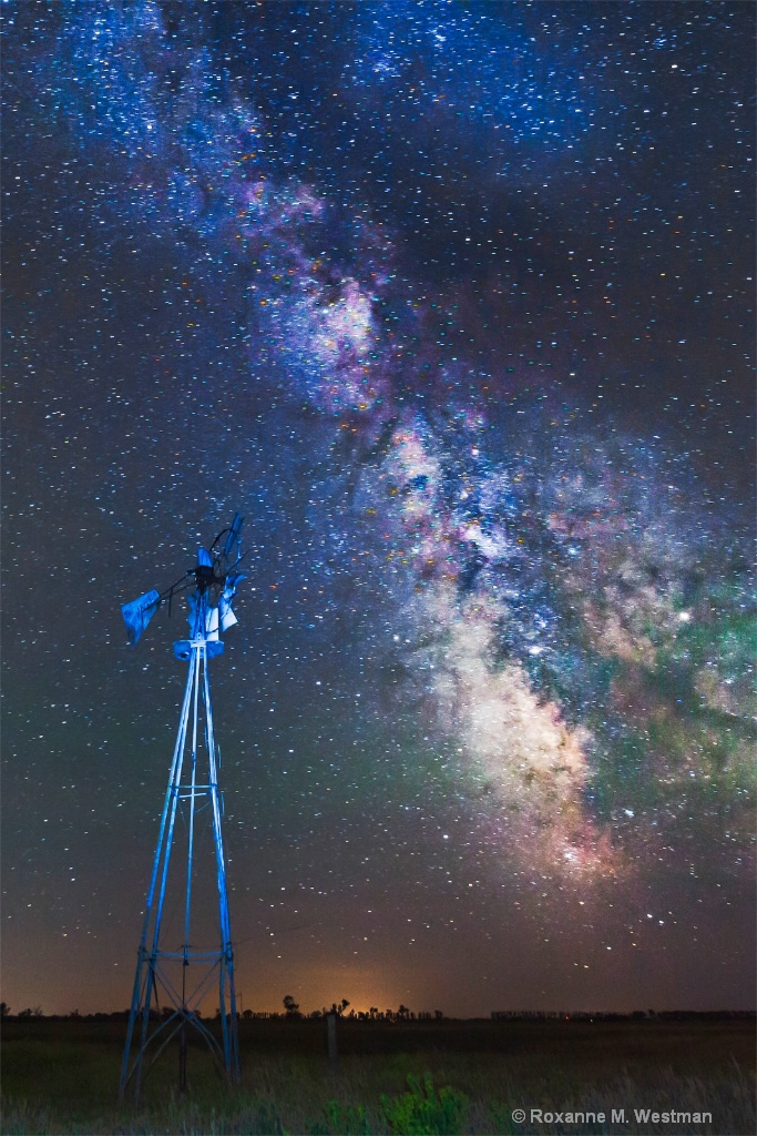 North Dakota night skies - ID: 15713818 © Roxanne M. Westman