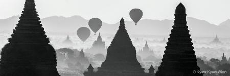Balloons and Pagodas