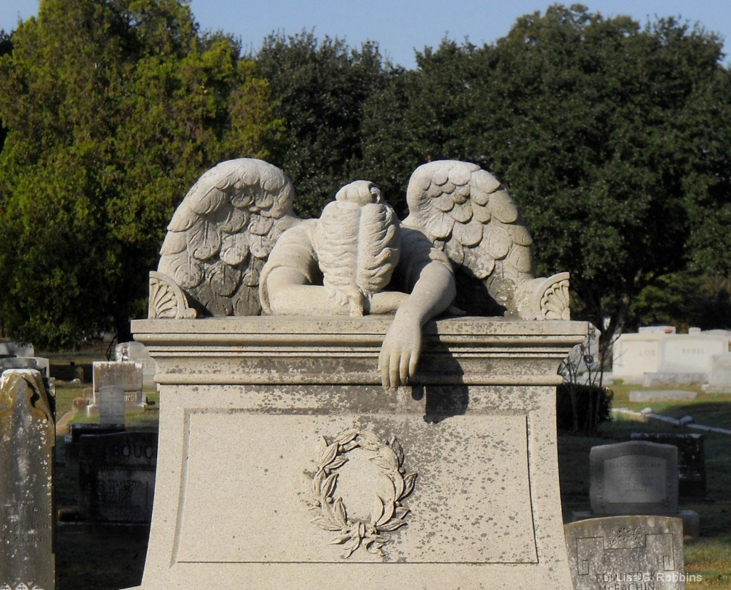 The Crying Angel of Friendship Cemetary
