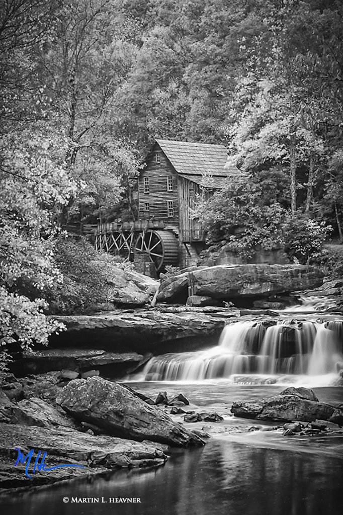 Glade Creek Mill - Babcock State Park, WV - ID: 15714962 © Martin L. Heavner