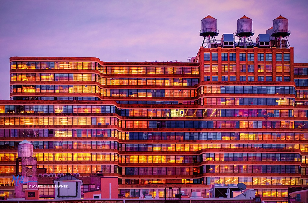 West 30th from High Line - New York, NY - ID: 15714963 © Martin L. Heavner