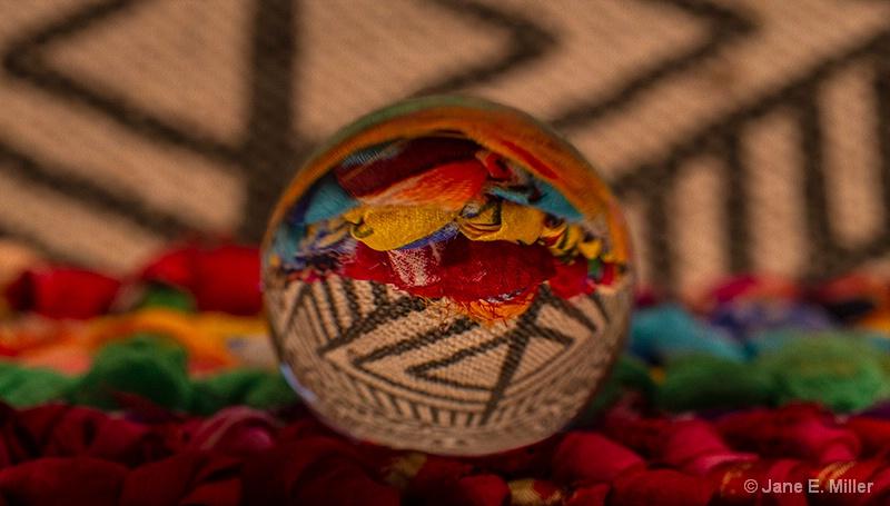 Lens Ball Art - ID: 15715472 © Jane E. Miller