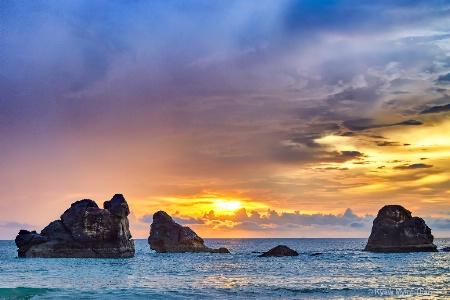 Sunset Of Ocean