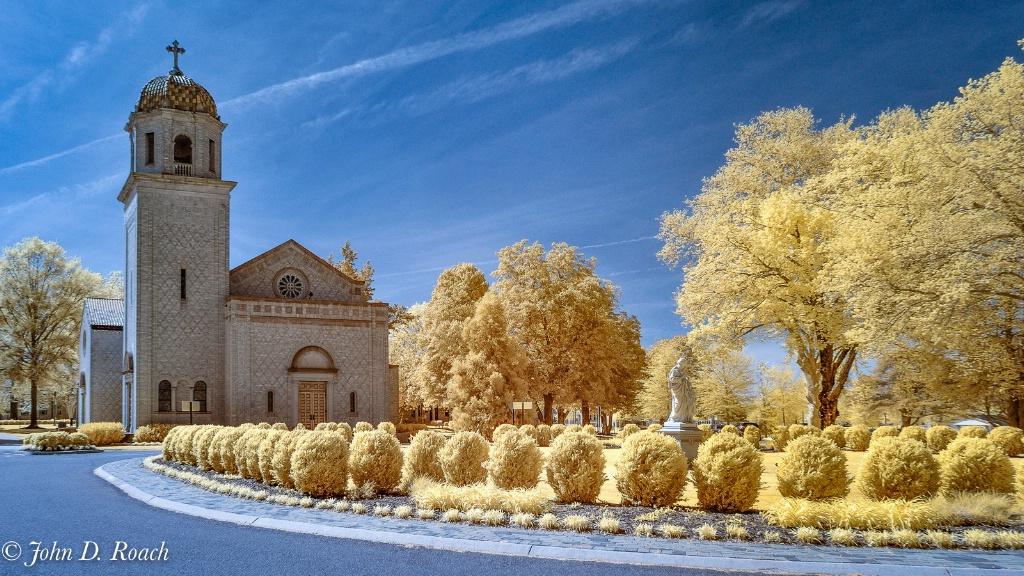 Chapel at St. Josephs Villa - D90 IR-2 - ID: 15715571 © John D. Roach