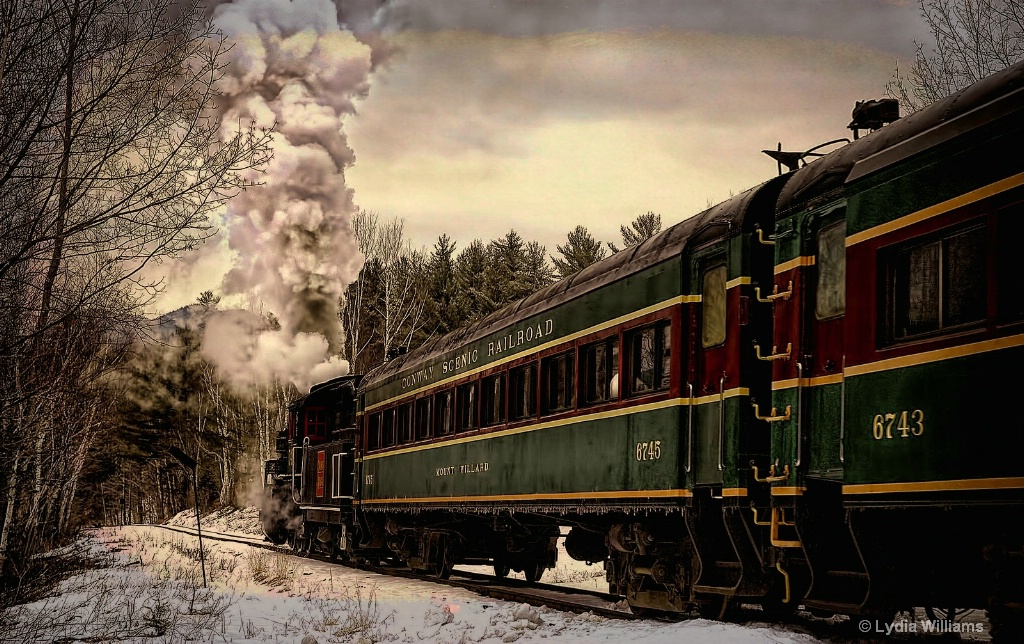 Steam in the Snow - ID: 15715823 © Lydia Williams