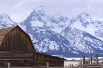 In the Tetons