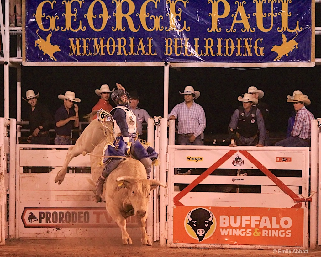 George Paul Memorial Bullriding