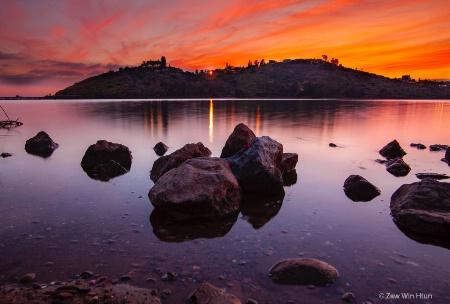 lake murray sunset2019