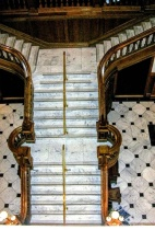 Boldt Castle Stairway, in New York