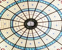 Circular Ceiling Design in Boldt Castle
