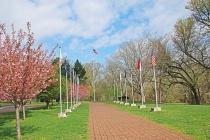 WC2 Walk of Flags at Washington Crossing