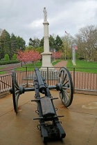 WC3 Cannon Washington Monument and Walk of Flags
