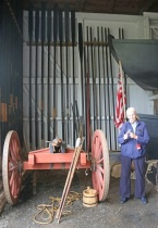 WC5 Lecture in Boat House at Washingtons Crossing