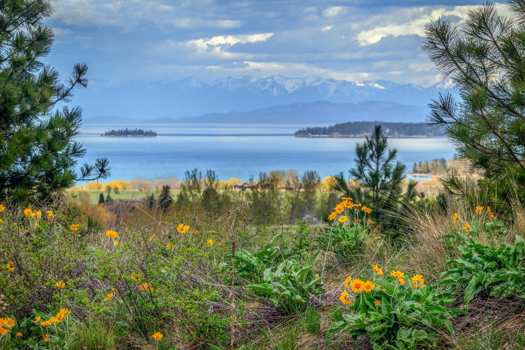 Spring on Flathead Lake