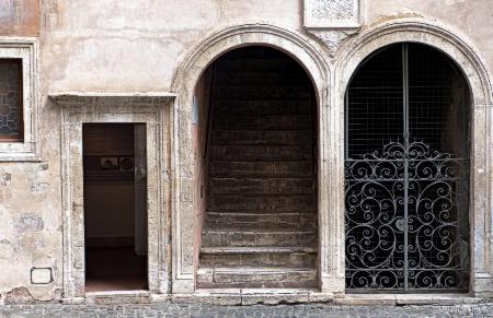 Stairs through door 2