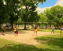 Volleyball at Rotary Park