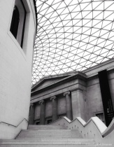 ~ ~ BRITISH MUSEUM'S STAIRCASE ~ ~