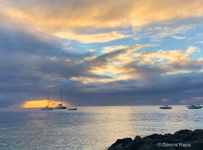 Yellow sky sunset - ID: 15723576 © Donna Rapp