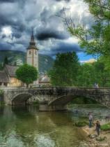 ~ ~ SPRINGTIME AT LAKE BOHINJ, SLOVENIA ~ ~